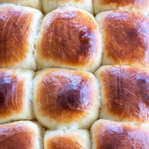 Easy homemade Hawaiian Bread Rolls - perfectly soft and sweet for breakfast, dinner or appetizers!