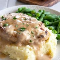 Cream of Mushroom Pork Chops BAKED