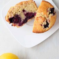 Blackberry Lemon Muffins