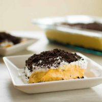 Pumpkin Oreo Dessert