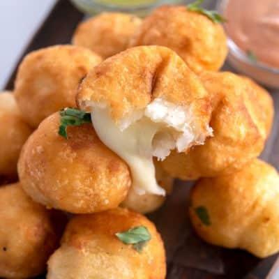 Bolitas de Yuca (Fried Yuca Balls)