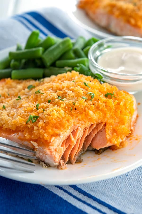 Buffalo Salmon with a bite missing