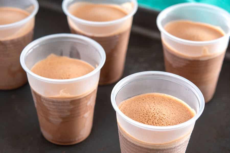 Limber de Nutella in cups