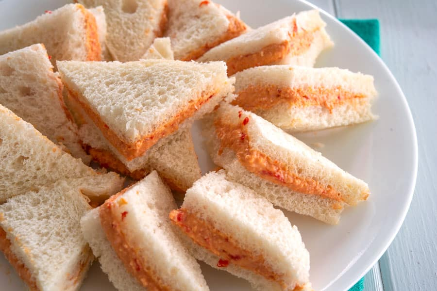 Platter of Sandwich de Mezcla